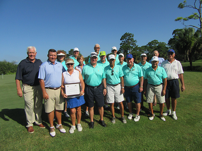 Group of people at Sandridge Golf Club