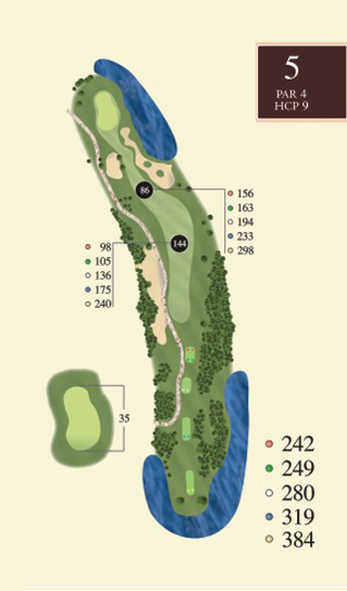Hole 5 overview