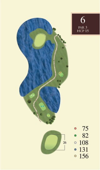 Hole 6 overview