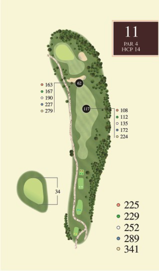 Hole 11 overview