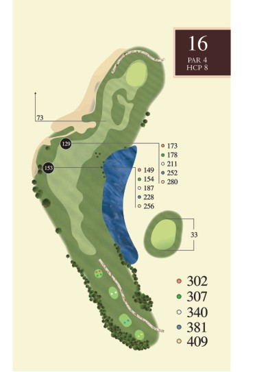Hole 16 overview
